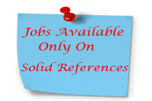 Jobs Available only on solid references