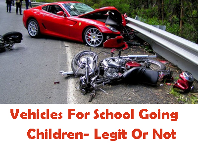 Vehicles For School Going Children- Legit Or Not?