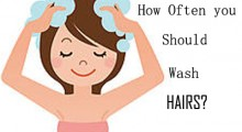How Often Your Precious Hair Should Be Washed?