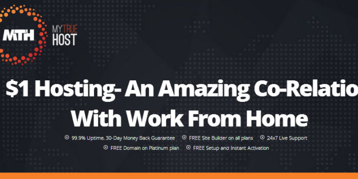 $1 Hosting- An Amazing Co-Relation With Work From Home