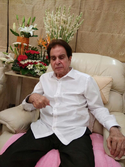 Dilip Kumar Is Hospitalized And Being Treated For Kidney Disorder