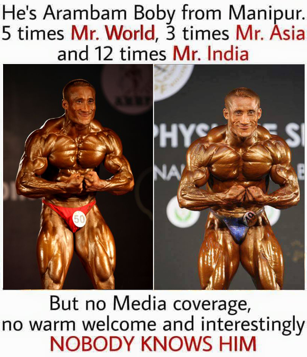 Meet Arambam Boby- 5 Times World Champion And Still Not Recognized ! Shocking
