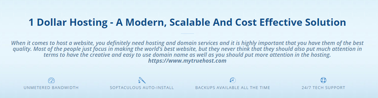 1 Dollar Hosting, Unlimited Reseller Hosting, $1 Web Hosting