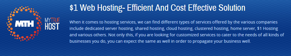 $1 Web Hosting, Cheap Reseller Hosting, $1 Hosting