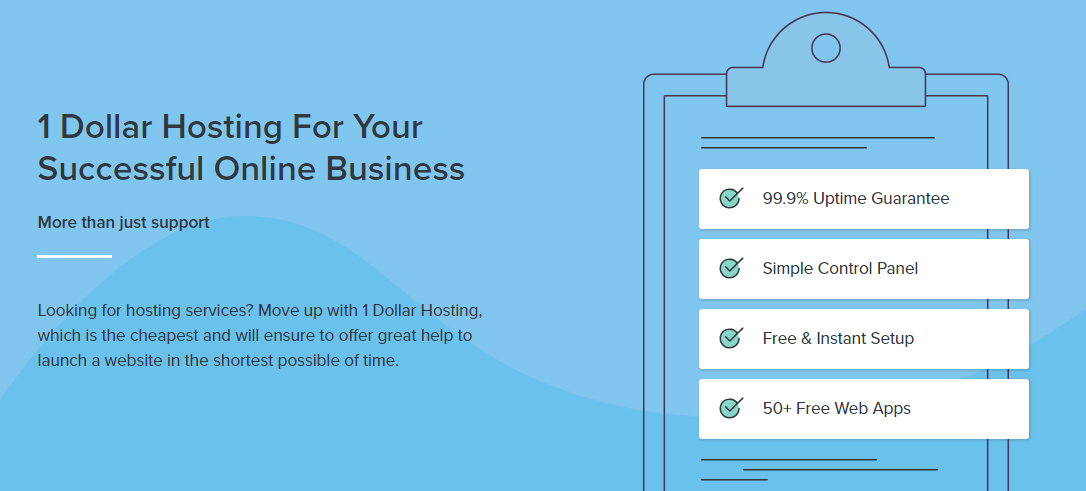 $1 Web Hosting, 1 Dollar Hosting, Unlimited Reseller Hosting