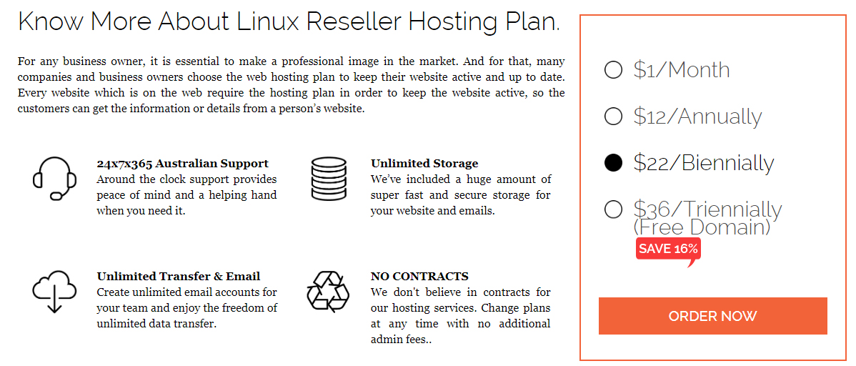 Unlimited Reseller Hosting, 1 Dollar Hosting