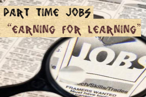 Part Time Jobs For Youth To Earn And Study