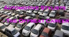 Automotive Stylist- The Offbeat Career