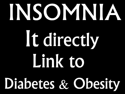 Insomnia Directly Linked To Diabetes And Obesity